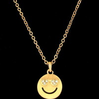Smiley Love Emoji Necklace