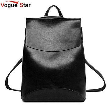 Spanish Brand 2017 Design Pu Women Leather Backpacks School Bag Student Backpack Ladies Women Bags Leather Package Female LB214