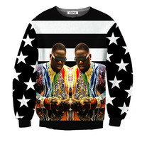 Revolution Riche American Gangster Crewneck