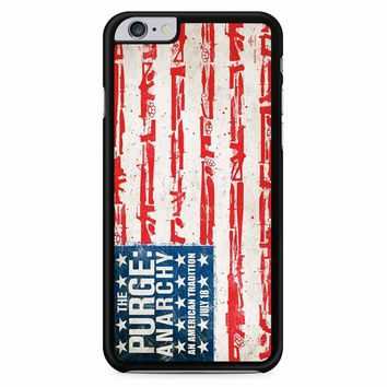 The Purge Anarchy Flag iPhone 6 Plus / 6s Plus Case