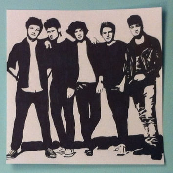 One Direction Pop Art