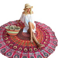 Peacocked - Boho Beach Blanket