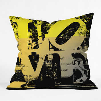 Amy Smith Philadelphia Love Throw Pillow