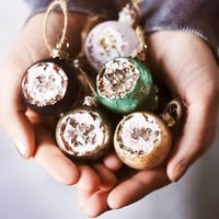 Free People Geode Ball Ornament Set