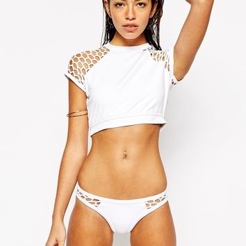 Seafolly Mesh About Crop Top