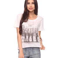 Beatles Uneven Hem Tee
