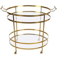 Italian Brass Cocktail / Bar Cart