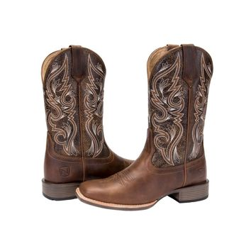 Noble Outfitters Ladies All Around Square Toe Autumn Boot - Vintage Brown
