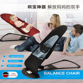 2016 Portable soft baby bed Novelty High Quality Baby Folding Baby Cradles Infant Baby Bouncer Balance Chair Soft