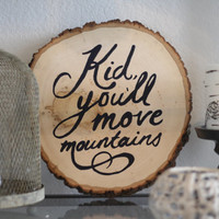 Move Mountains, Kid Trunk Print