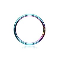 Bendable Steel 20G 18G Nose Hoop (Many Colors Available!)