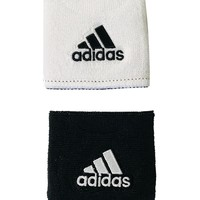 Adidas Interval Reversible Wristbands - black/white