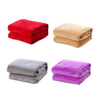 2016 new Flannel Sheets Quilt Soft Fashion Brand Bedclothes Coral Fleece Blanket Flannel Blanket