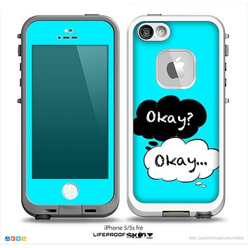 The Okay Speech Bubbles V3 Skin for the iPhone LifeProof Case