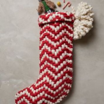 Zigzag Stocking by Anthropologie