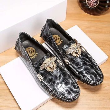 Versace Fashion Casual Flats Shoes-21