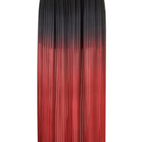 **Dip Dye Maxi Skirt by Coco's Fortune - Brands at Topshop - Skirts  - Clothing