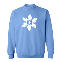 MICHIGAN SNOWFLAKE SWEATSHIRT