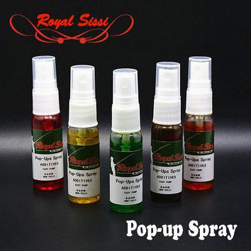 20ml specific boilie-mate pop-up spray 4 fruit flavors & 1 stinky flavour carp fishing booster spray attractor boilies additives