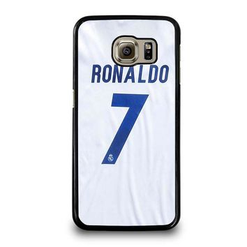 RONALDO CR7 JERSEY REAL MADRID Samsung Galaxy S6 Case Cover