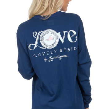 Virginia Love Long Sleeve