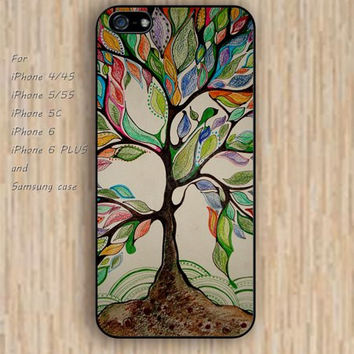 iPhone 5s case tree life tree iphone case,ipod case,samsung galaxy case available plastic rubber case waterproof B042