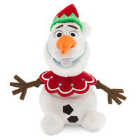 Olaf Plush - Frozen - Holiday - Mini Bean Bag - 7''