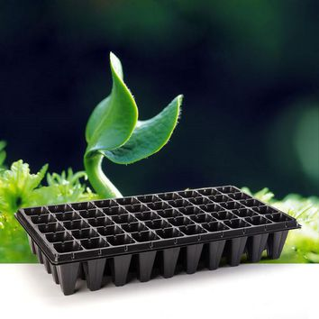 21 32 50 Holes Vegetable Flower Seeds Growing Planter Pots Tray Garden Plant Nursery Seedling Plate for Home Garden Planting