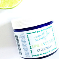 Lime & Vetiver Deodorant