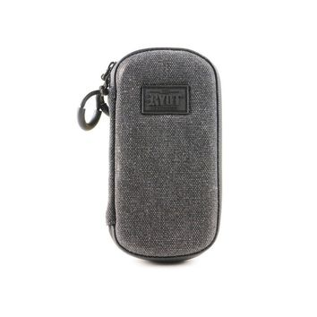 RYOT Slym Case Carbon Series with SmellSafe and Lockable Technology in Black