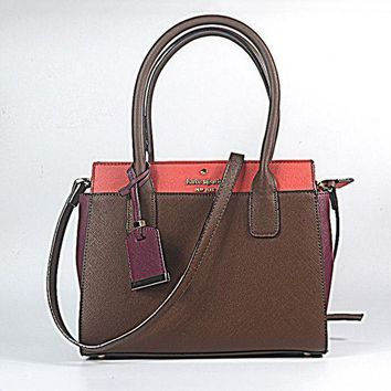 MDIGUX5 Kate Spade Women Leather Fashion Crossbody Handbag Shoulder Bag Satchel-4