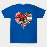 Heart Playing Card Shape by gravityx9