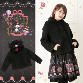 Kuromi Coat (ribbon) SANRIO From Japan ##mo