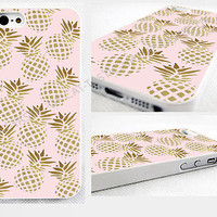 case,cover fits iPhone,iPod models>pineapple,pastel,pink,bright,fruit,retro