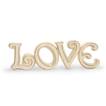 Words to Live By - Love Figurine by Lenox