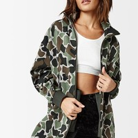 adidas Camouflage Track Jacket at PacSun.com
