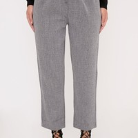 Diya Grey Cropped Trousers