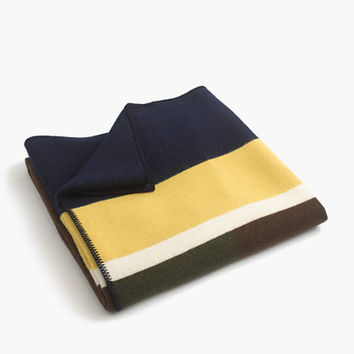Faribault Woolen Mill Co. For J.Crew Colorblock Blanket