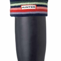 Striped Cuff Welly Sock | Hunter Boot Ltd