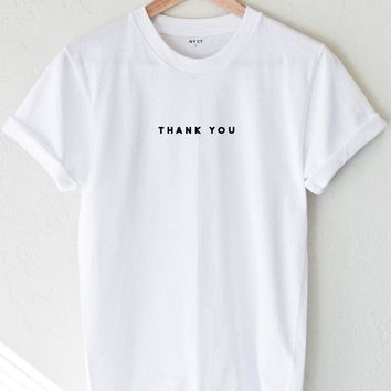 Thank You Tee - White