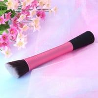 Rose 5PCS Makeup Brush Set Cosmetic Brush Face Blusher Foundation Tool