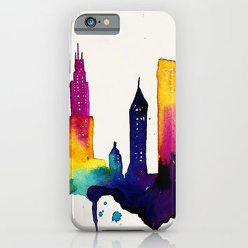 Chicago  iPhone & iPod Case by Talula Christian
