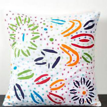Cotton Pillow Cover, Pillow Cover, Cushions Cover, Hand Printed Cushion Cover, cotton cushion cover