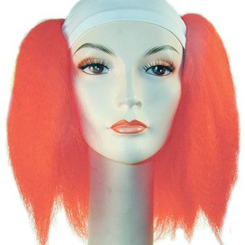 Bald Dlx Silly Boy Hot Pink Halloween special effects wig mask