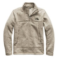 Men's Glacier Alpine Jacket in Granite Bluff Tan Heather by The North Face - FINAL SALE