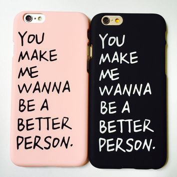 Cool Letters Printed iPhone 7 5s 6 6s Plus Case Superior Quality Cover [11208633871]
