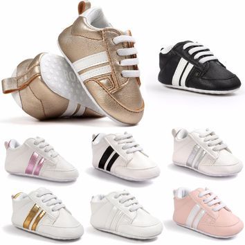 Sport Baby Shoes PU Leather