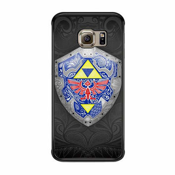zelda link shield samsung galaxy s6 s6 edge cases