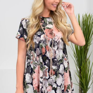 Charlotte Blush Floral Top