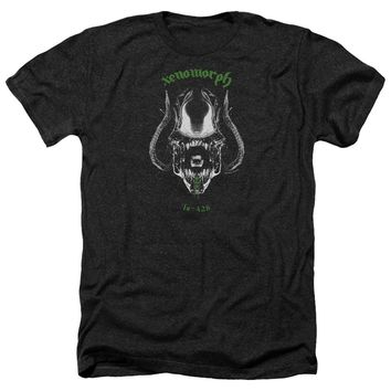 Alien - Xenomorph Adult Heather Officially Licensed T-Shirt Short Sleeve Shirt